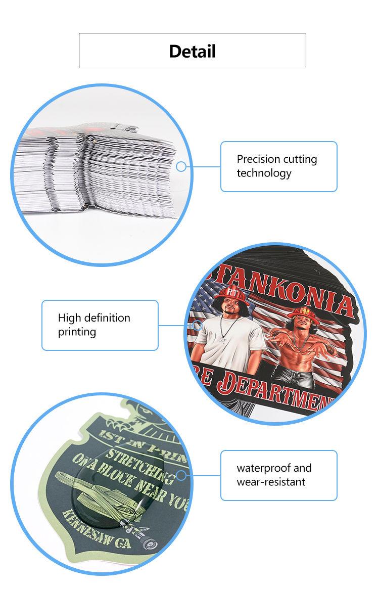 Egyedi nyomtatási kalap címke matrica vödör címkék esernyő matricák logó matricák